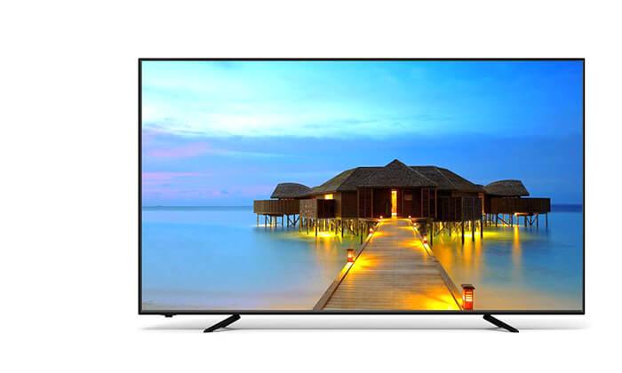 2 טלוויזיה חכמה 4K SUZUKI Energy, מסך 55 אינץ'