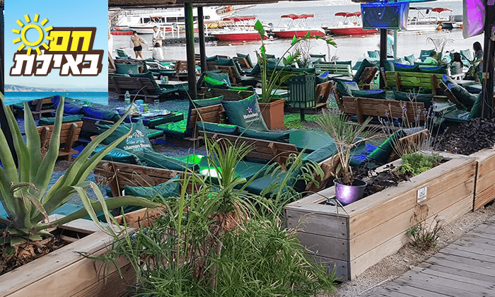 7 ארוחה זוגית במסעדת חוף ממן, אילת