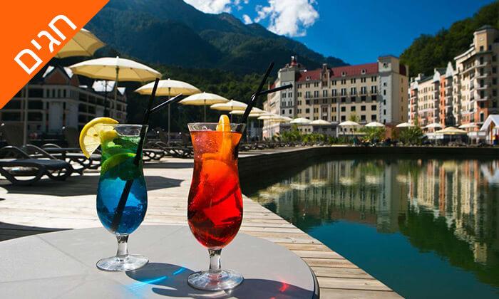 2 קיץ וחגים בריביירה הרוסית - מלון 5 כוכבים מומלץ מרשת מלונות Radisson Blu
