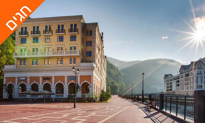 3 קיץ וחגים בריביירה הרוסית - מלון 5 כוכבים מומלץ מרשת מלונות Radisson Blu
