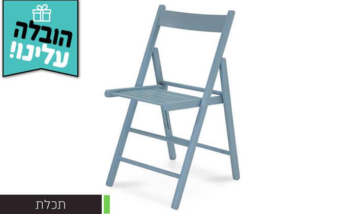 5 שמרת הזורע: 4 כיסאות לפינת אוכל - משלוח חינם!