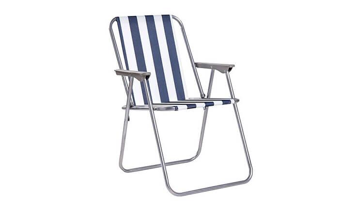 4 כיסא ים מתקפל