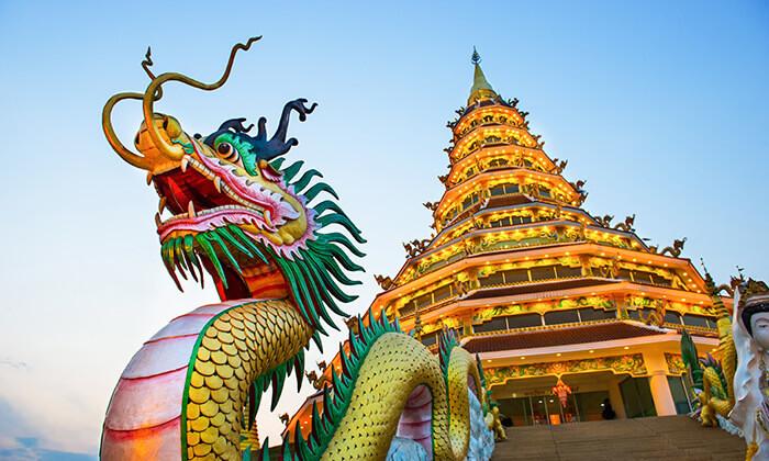 4 טיול מאורגן 8 ימים בתאילנד - מקדשים, ארמונות, השוק הצף, חופים וקניות