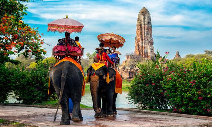3 טיול מאורגן 8 ימים בתאילנד - מקדשים, ארמונות, השוק הצף, חופים וקניות