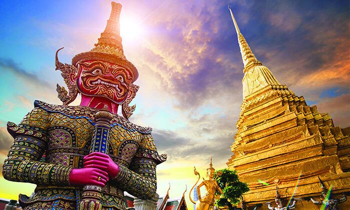2 טיול מאורגן 8 ימים בתאילנד - מקדשים, ארמונות, השוק הצף, חופים וקניות