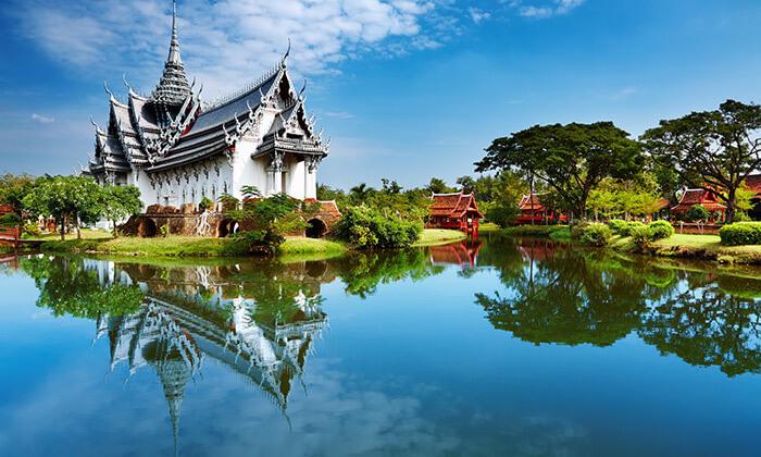 5 טיול מאורגן 8 ימים בתאילנד - מקדשים, ארמונות, השוק הצף, חופים וקניות