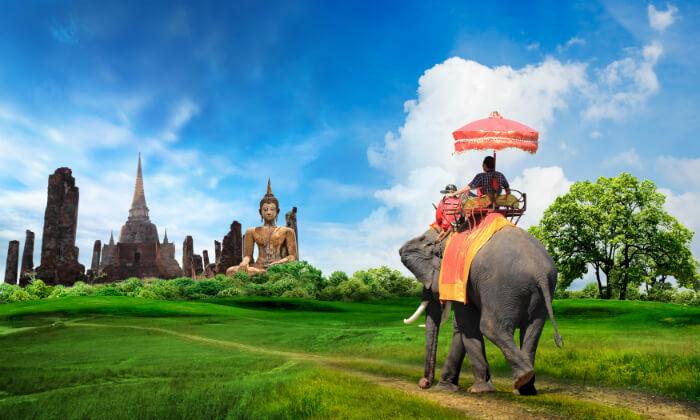 6 טיול מאורגן 8 ימים בתאילנד - מקדשים, ארמונות, השוק הצף, חופים וקניות
