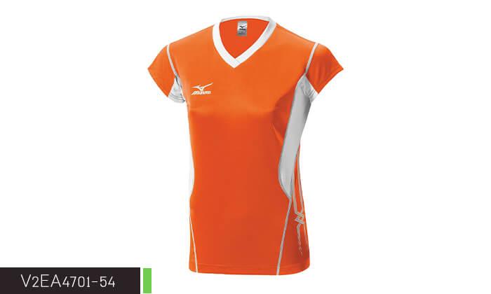 7 חולצה מנדפת זיעה לנשים MIZUNO