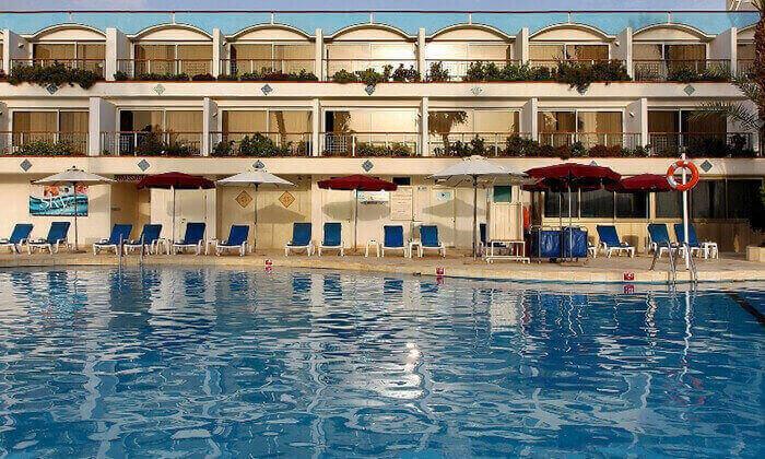 8 חופשה במלון אמריקנה אילת, כולל טיסות