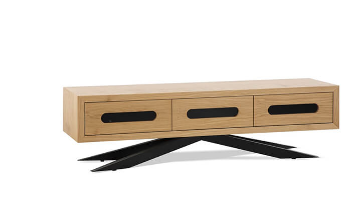 4 סט שולחן ומזנון סלון LEONARDO