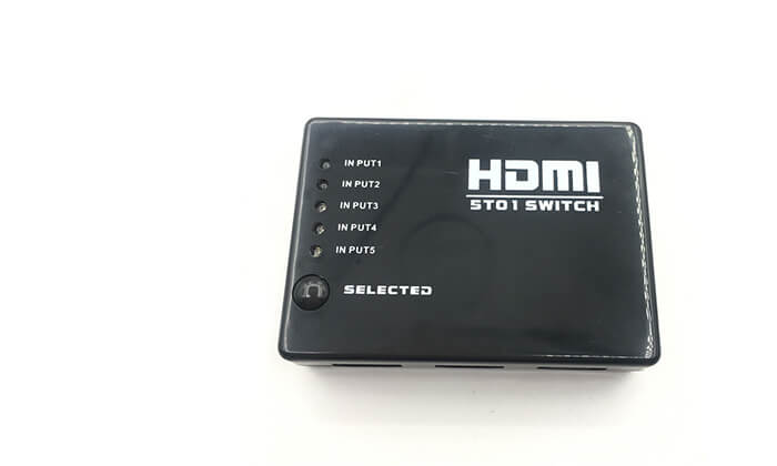 5 מפצל HDMI SWITCH