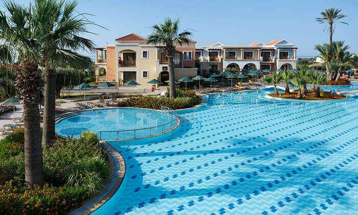 6 חופשה ברודוס במלון 5 כוכבים עם מגלשות מים - כולל פסח ושבועות