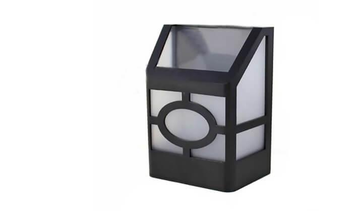 5 מנורה סולארית לגינה