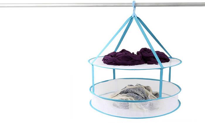 2 מתלה רשת לכביסה