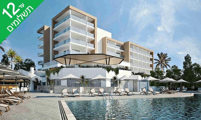 """2 סופ""""ש אולטרה הכל כלול במלון Leonardo החדש בקפריסין, כולל חגים"""