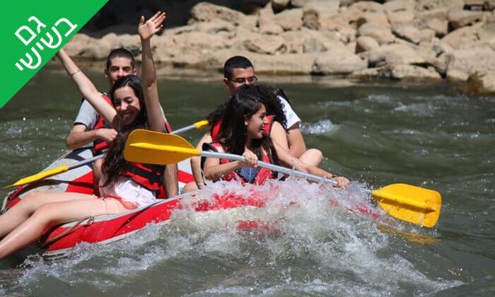 2 שייט קיאקים לכל המשפחה בנהר הירדן