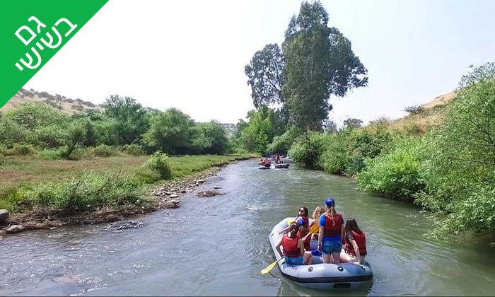 5 שייט קיאקים לכל המשפחה בנהר הירדן