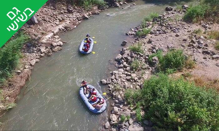 3 שייט קיאקים לכל המשפחה בנהר הירדן