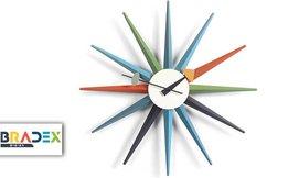 שעון קיר קוצים Stardust
