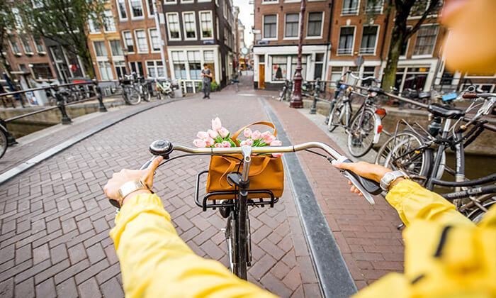 3 טיול ולילה באמסטרדם - יציאה וחזרה מברלין