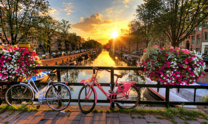 6 טיול ולילה באמסטרדם - יציאה וחזרה מברלין