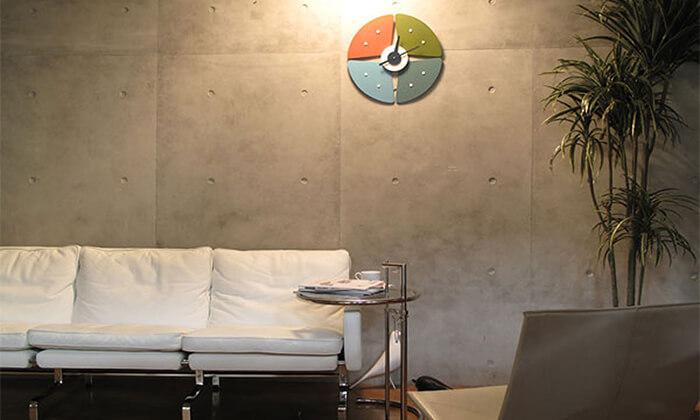 4 שעון קיר Petal