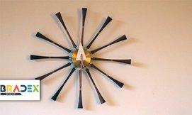 שעון קיר Spindle