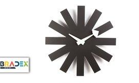 שעון קיר חצים Asterisk