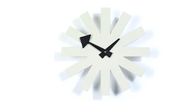3 שעון קיר חצים Asterisk