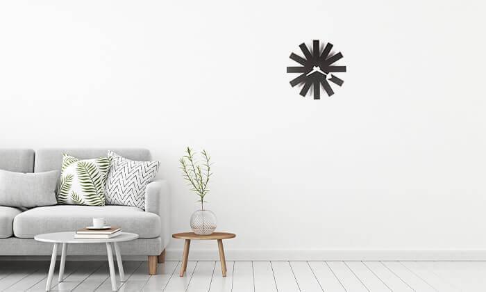4 שעון קיר חצים Asterisk