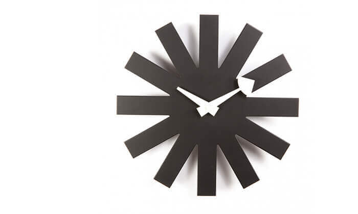 5 שעון קיר חצים Asterisk