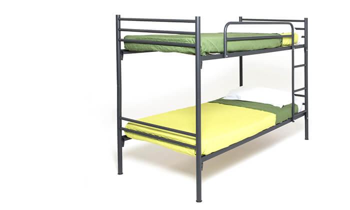 6 מיטת קומותיים ממתכת Volare