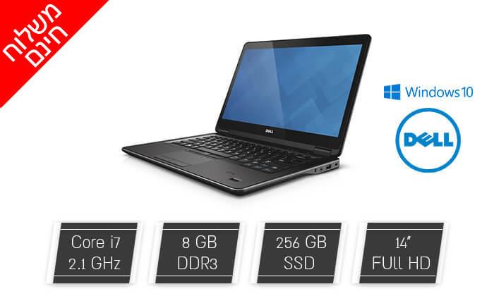 """2 מחשב נייד דל Dell עם מסך """"14 - משלוח חינם!"""
