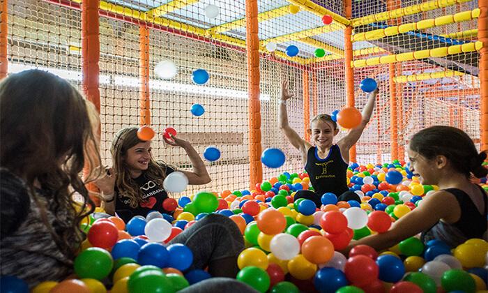 5 Gravity Park גרביטי פארק, כרמיאל - כניסה לפארק האתגרים
