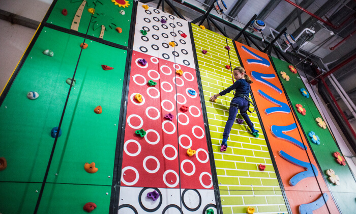3 Gravity Park גרביטי פארק, כרמיאל - כניסה לפארק האתגרים