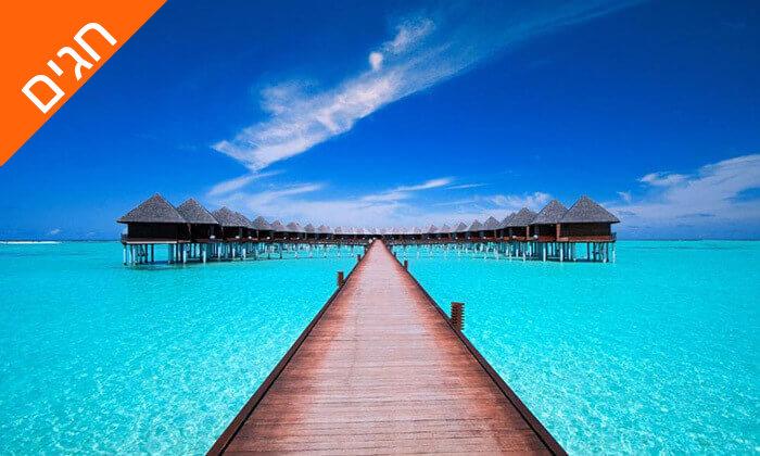 3 חופשה באיים המלדיביים - שמש, מוחיטו והחופים היפים בעולם, כולל סוכות