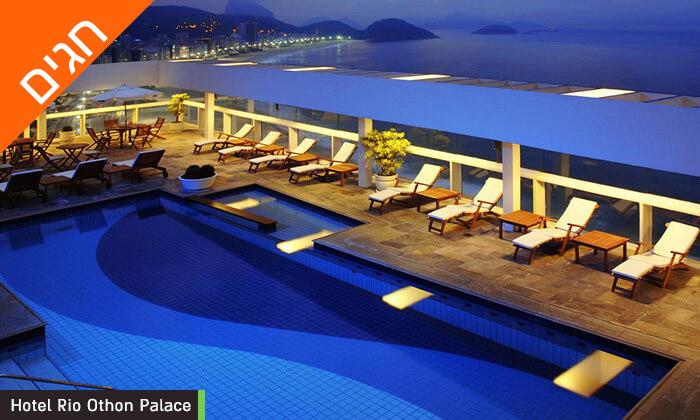 9 חופשה בריו דה ז'נירו, ברזיל - מלונות לבחירה על החוף בקופקבנה, כולל שבועות
