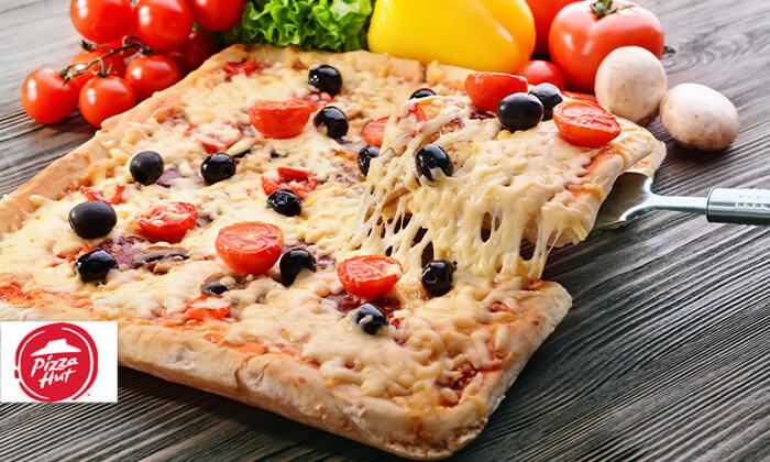 2 פיצה האט בפריסה ארצית - פיצה אישית כשרה לפסח!