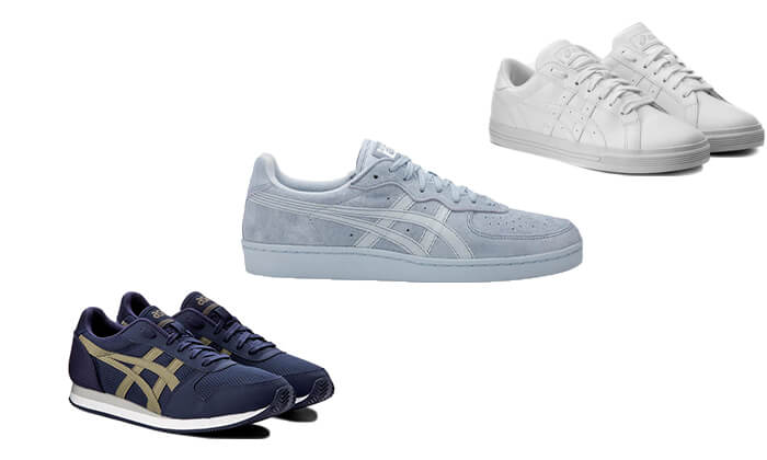 3 נעלי סניקרס יוניסקס asics