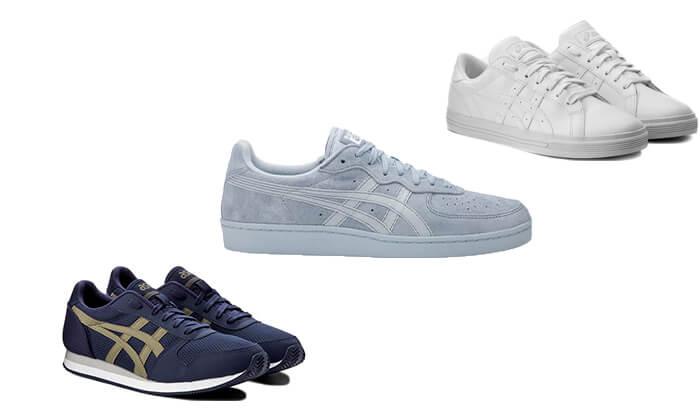 2 נעלי סניקרס יוניסקס asics