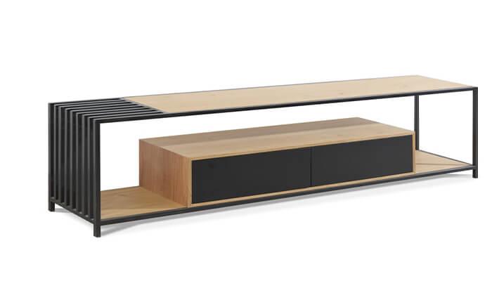 4 שולחן ומזנון סלון LEONARDO