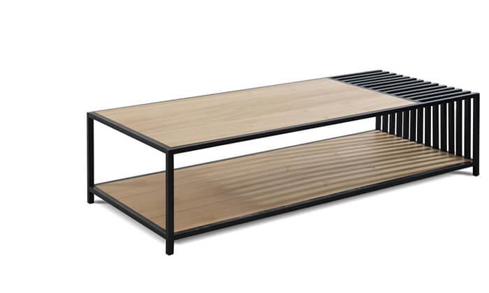 3 שולחן ומזנון סלון LEONARDO
