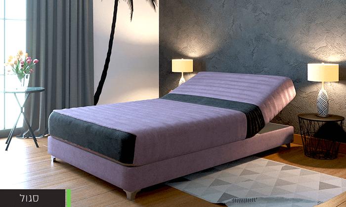 5  מיטת נוער חשמלית אורתופדית
