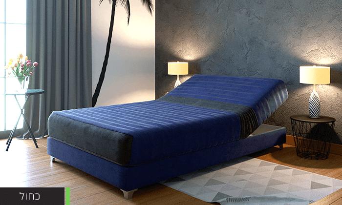 6  מיטת נוער חשמלית אורתופדית