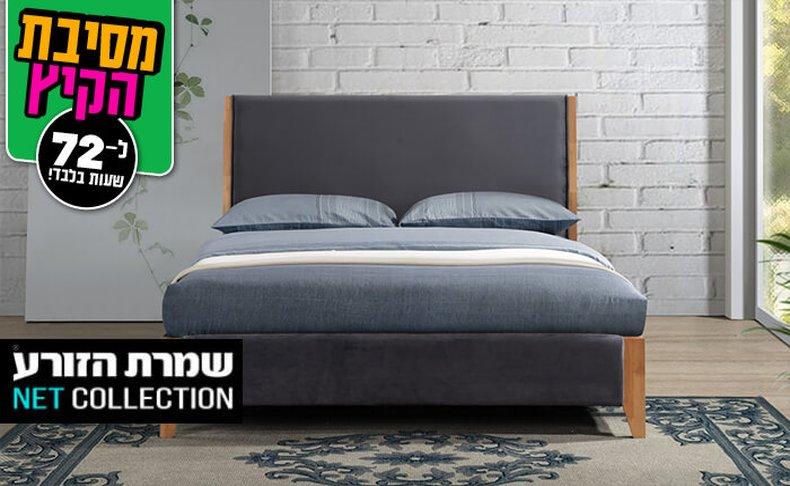 מיטה זוגית מרופדת דגם פנטזיה