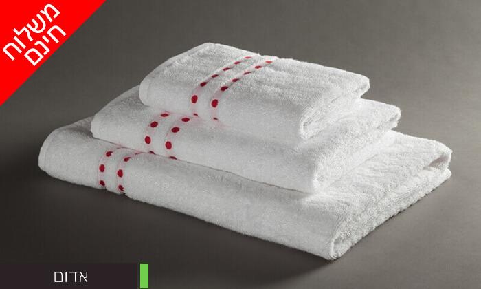 3 מגבת רחצה 100% כותנה - משלוח חינם