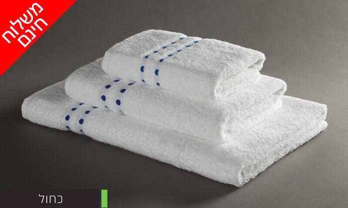 5 מגבת רחצה 100% כותנה - משלוח חינם