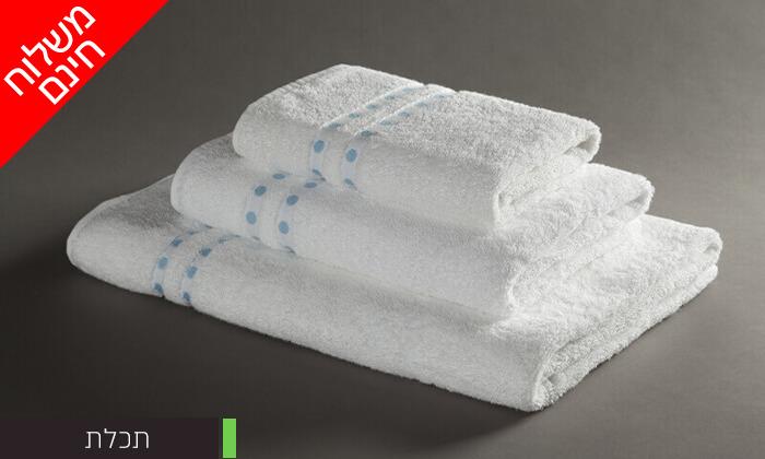 7 מגבת רחצה 100% כותנה - משלוח חינם