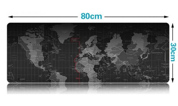 4 משטח שולחן מפת עולם