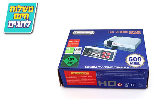 5 קונסולת משחק רטרו עם 600 משחקים - כולל משלוח חינם!